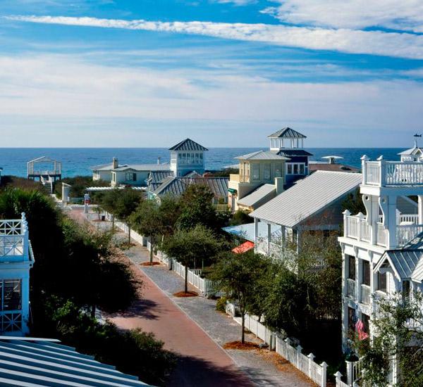 Seaside Vacation Homes beachview