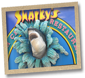 Sharky's Seafood Restaurant in Panama City Beach Florida