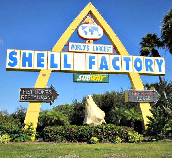 Shell Factory & Nature Park in Fort Myers Beach Florida