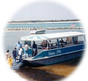 Shell Island Shuttle Boats in Panama City Beach Florida
