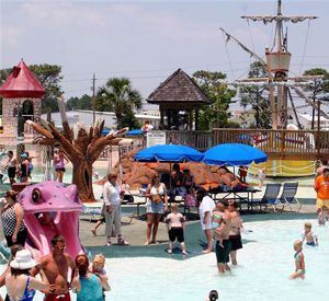 Shipwreck Island Water Park in Panama City Beach Florida