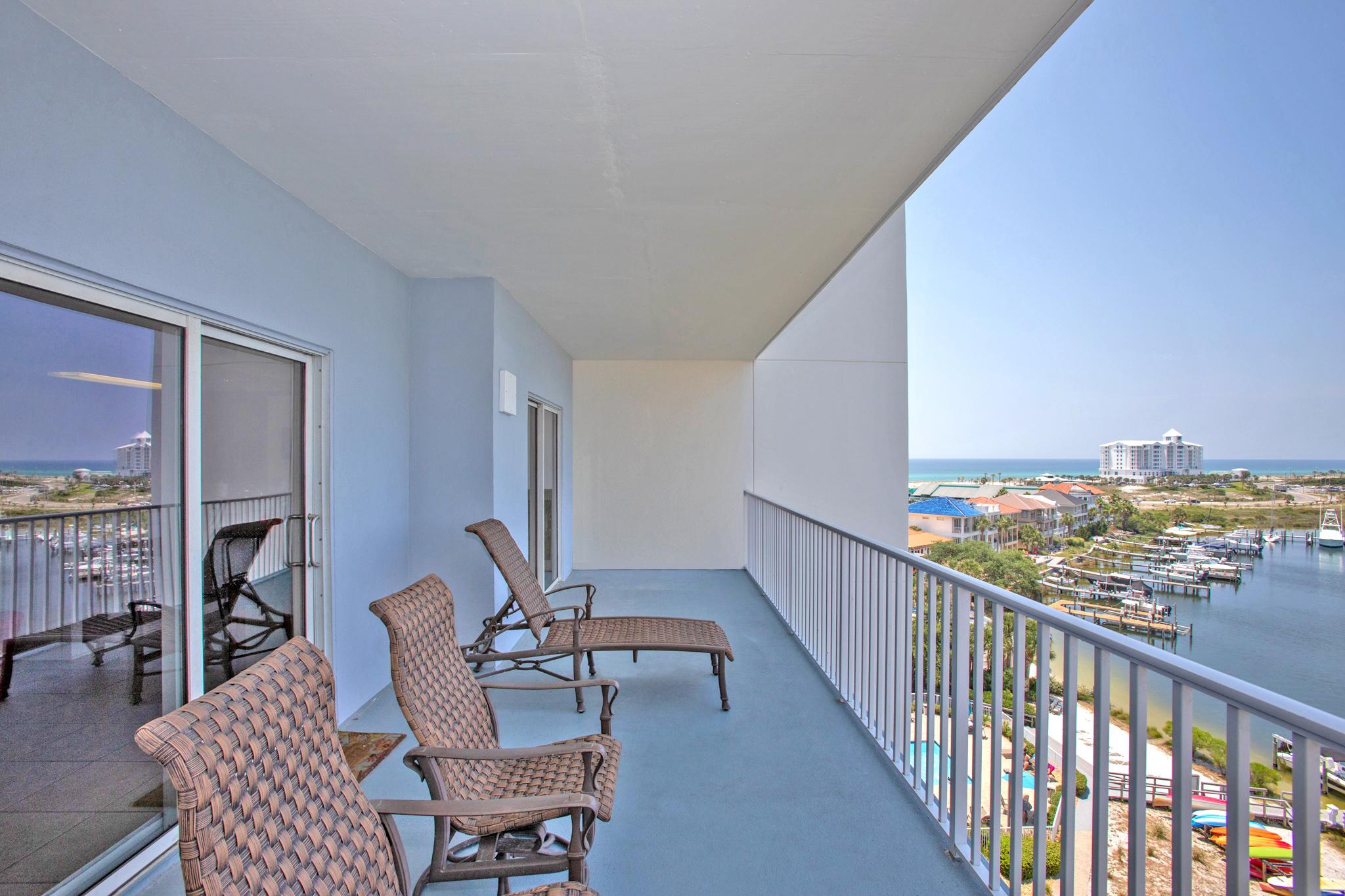 South Harbour #7E Condo rental in South Harbour ~ Pensacola Beach Vacation Rentals by BeachGuide in Pensacola Beach Florida - #17