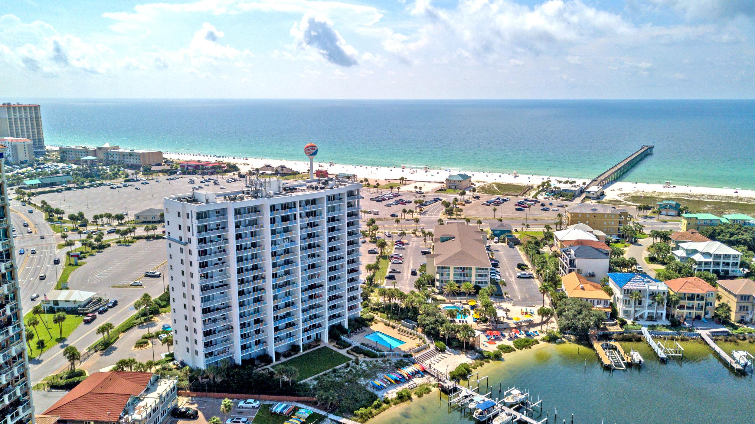 South Harbour #7E Condo rental in South Harbour ~ Pensacola Beach Vacation Rentals by BeachGuide in Pensacola Beach Florida - #26