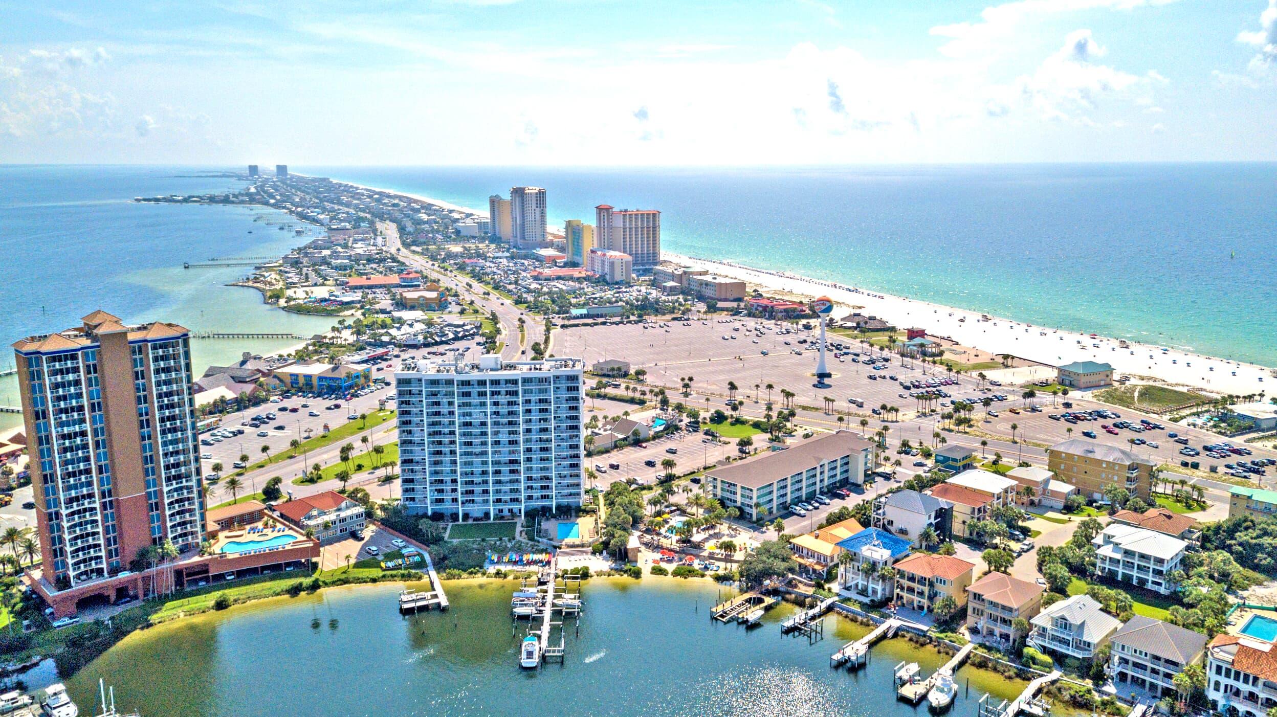 South Harbour #7E Condo rental in South Harbour ~ Pensacola Beach Vacation Rentals by BeachGuide in Pensacola Beach Florida - #27