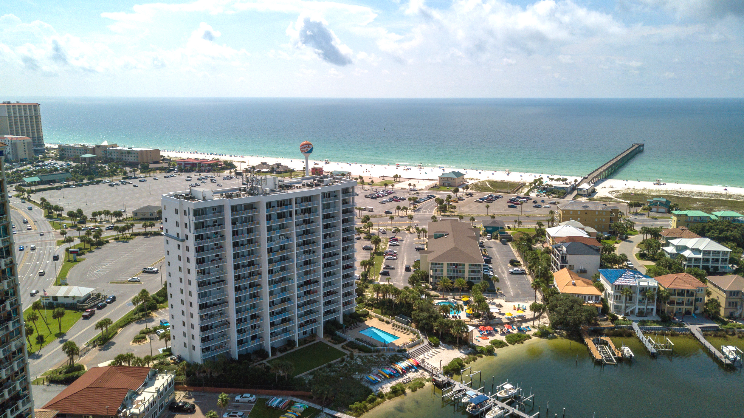 South Harbour #9F Condo rental in South Harbour ~ Pensacola Beach Vacation Rentals by BeachGuide in Pensacola Beach Florida - #45