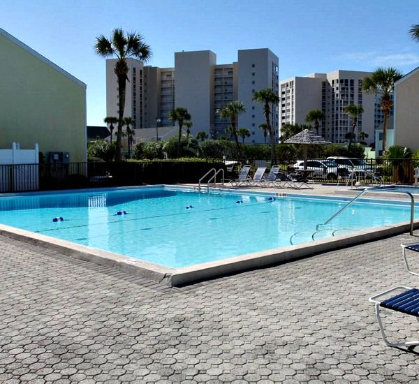 Outdoor heated pool at Southbay by the Gulf in Destin Florida