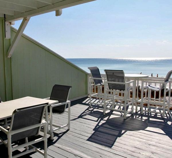 Private deck or patio at Southbay by the Gulf in Destin Florida