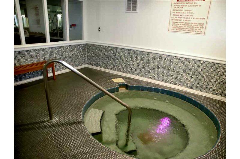 Indoor Hot Tub at Madeira Beach and Yacht Club in Madeira Beach FL