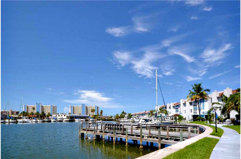 View of Bay at Madeira Beach and Yacht Club in Madeira Beach FL