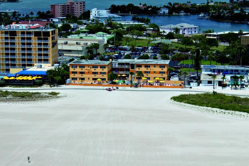 Treasure Island Florida Map.Page Terrace Beachfront Hotel In Treasure Island Florida Hotel