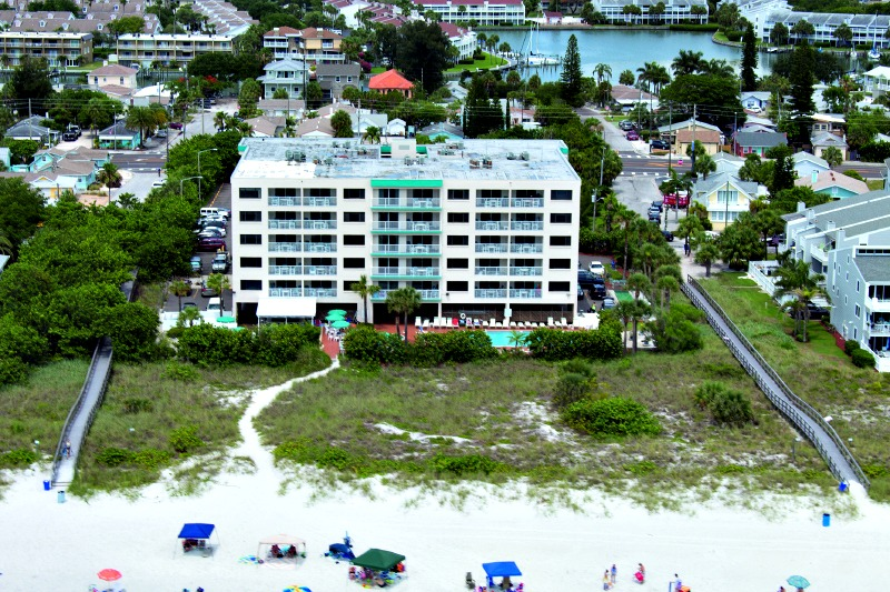 Sand Pebble Resort a beachfront property in Treasure Island FL