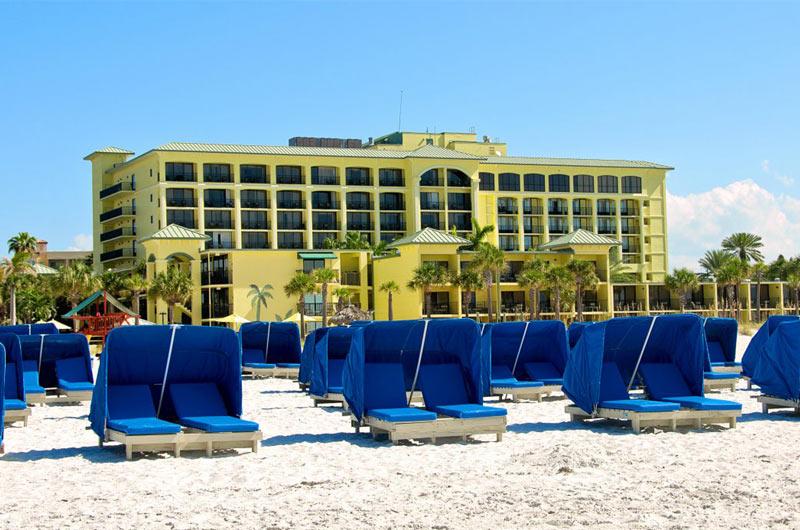 Beachfront Sirata Beach Resort in St. Pete Beach FL