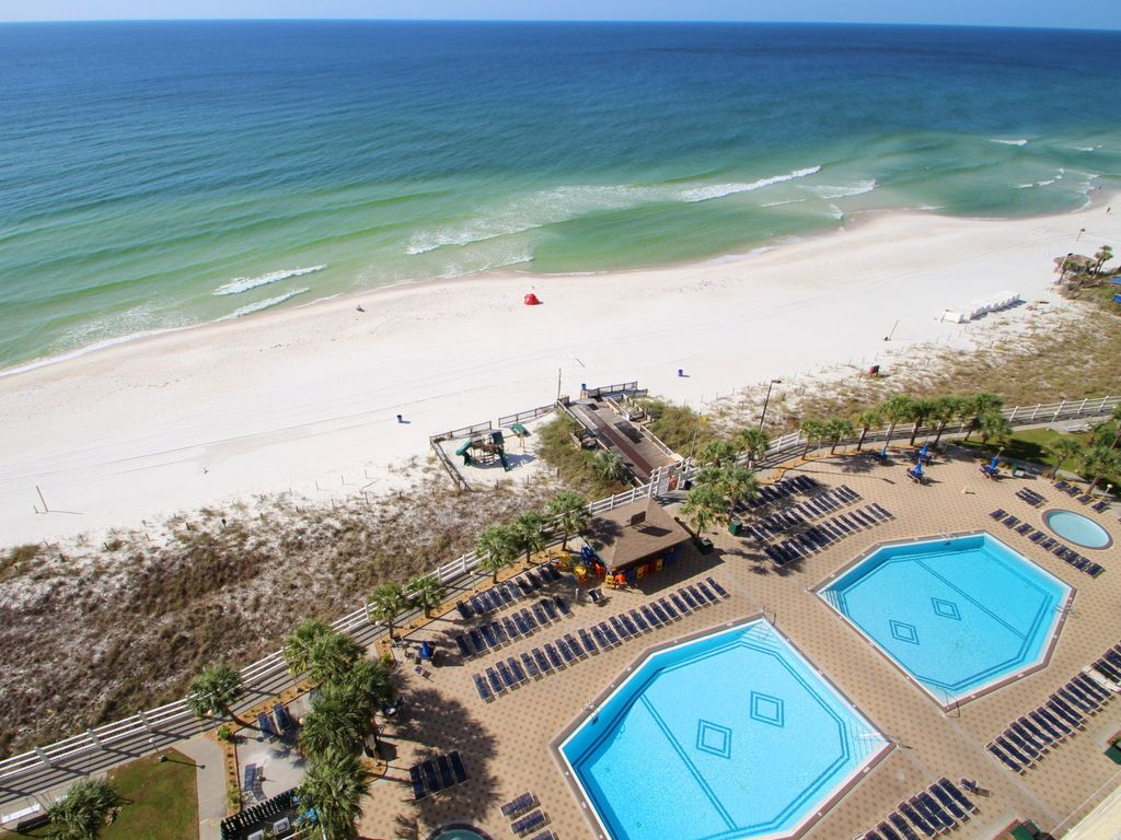 Summit 1116 1 Bedroom Beachfront Wi-Fi Pool Sleeps 6 Condo rental in Summit Beach Resort in Panama City Beach Florida - #3