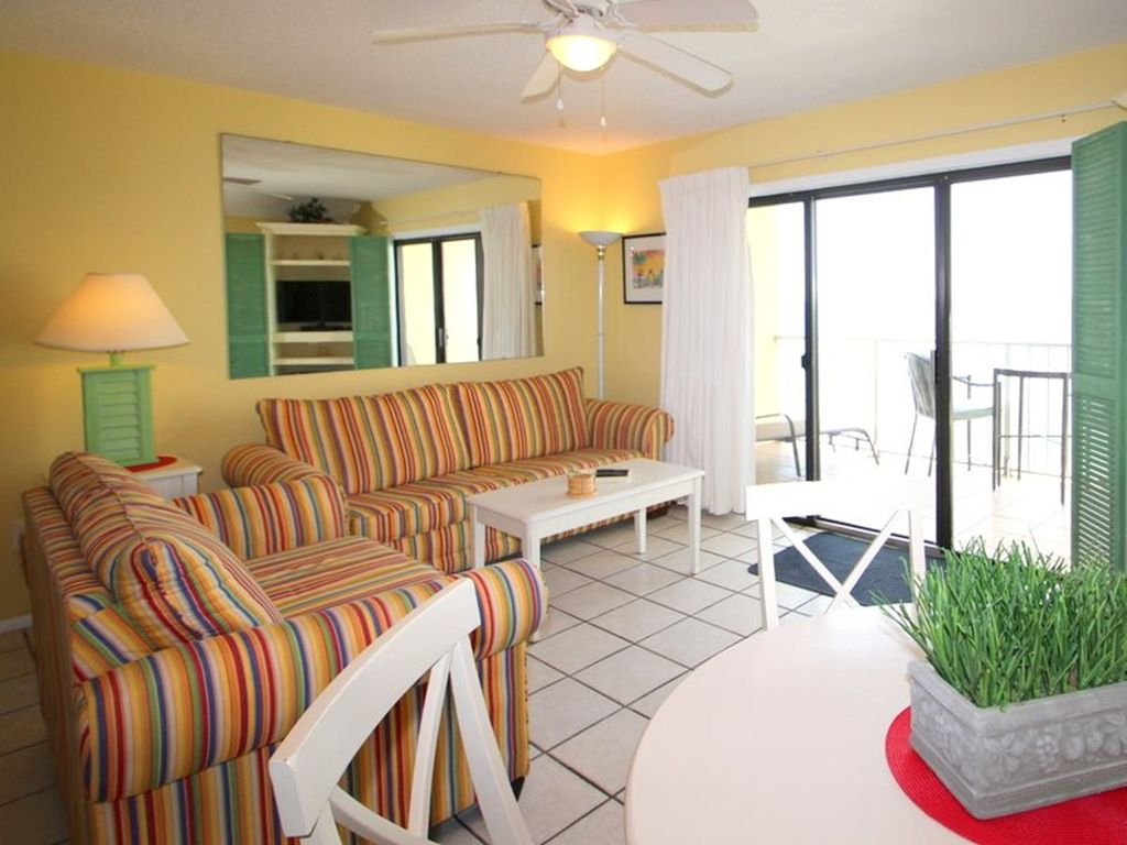 Summit 1116 1 Bedroom Beachfront Wi-Fi Pool Sleeps 6 Condo rental in Summit Beach Resort in Panama City Beach Florida - #10