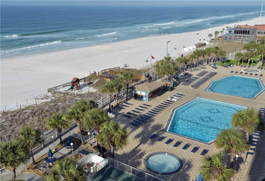 Summit 828 1 Bedroom Beachfront FREE Beach Chairs Pool Sleeps 7 Condo rental in Summit Beach Resort in Panama City Beach Florida - #2