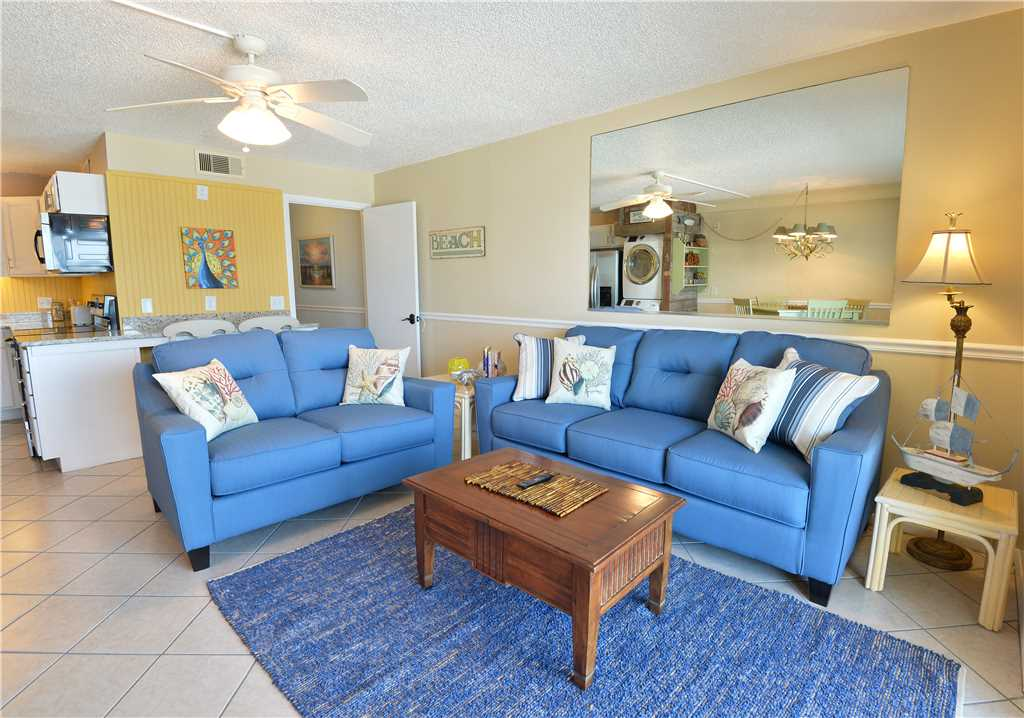 Summit 828 1 Bedroom Beachfront FREE Beach Chairs Pool Sleeps 7 Condo rental in Summit Beach Resort in Panama City Beach Florida - #3