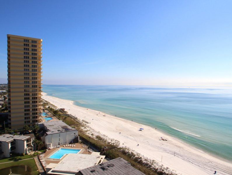 Summit 828 1 Bedroom Beachfront FREE Beach Chairs Pool Sleeps 7 Condo rental in Summit Beach Resort in Panama City Beach Florida - #14