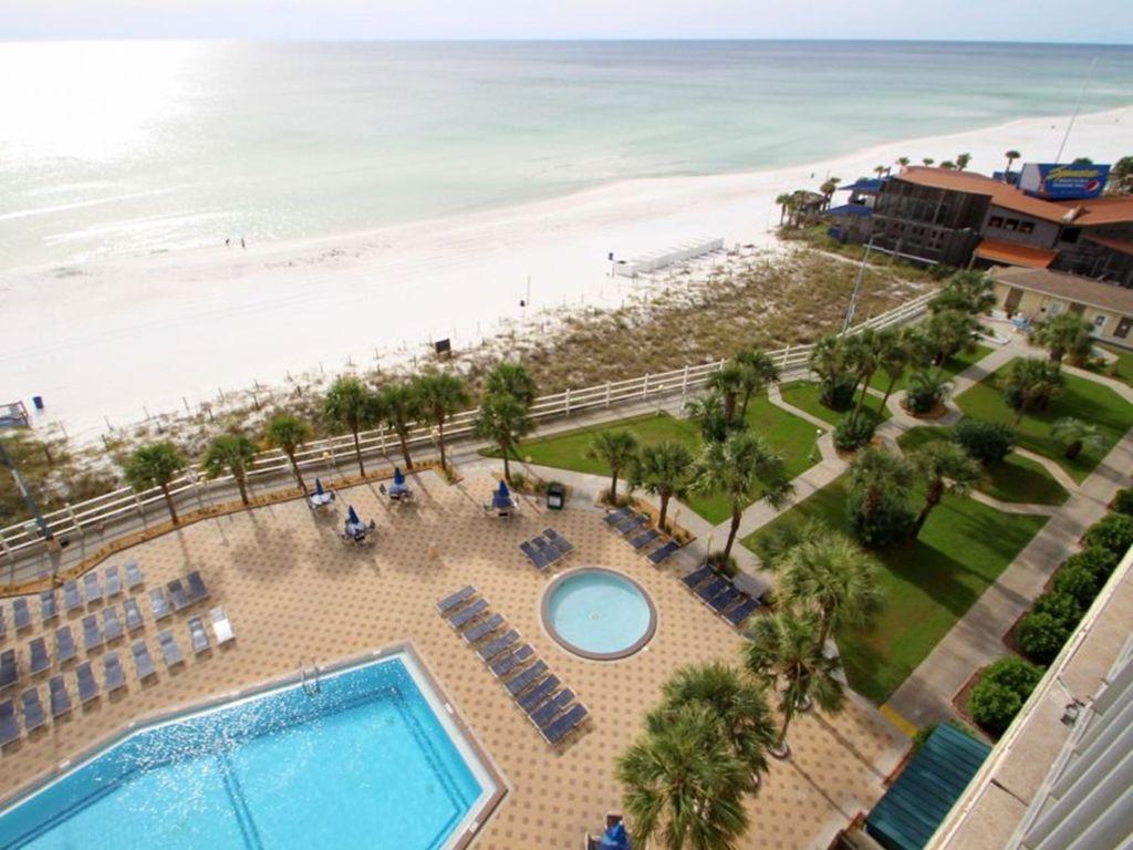 Summit 828 1 Bedroom Beachfront FREE Beach Chairs Pool Sleeps 7 Condo rental in Summit Beach Resort in Panama City Beach Florida - #18