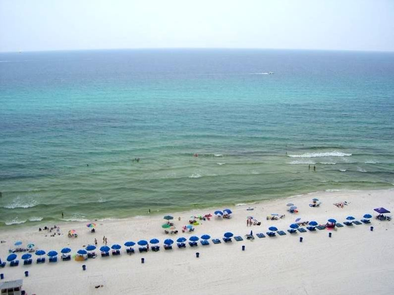 Summit 828 1 Bedroom Beachfront FREE Beach Chairs Pool Sleeps 7 Condo rental in Summit Beach Resort in Panama City Beach Florida - #21
