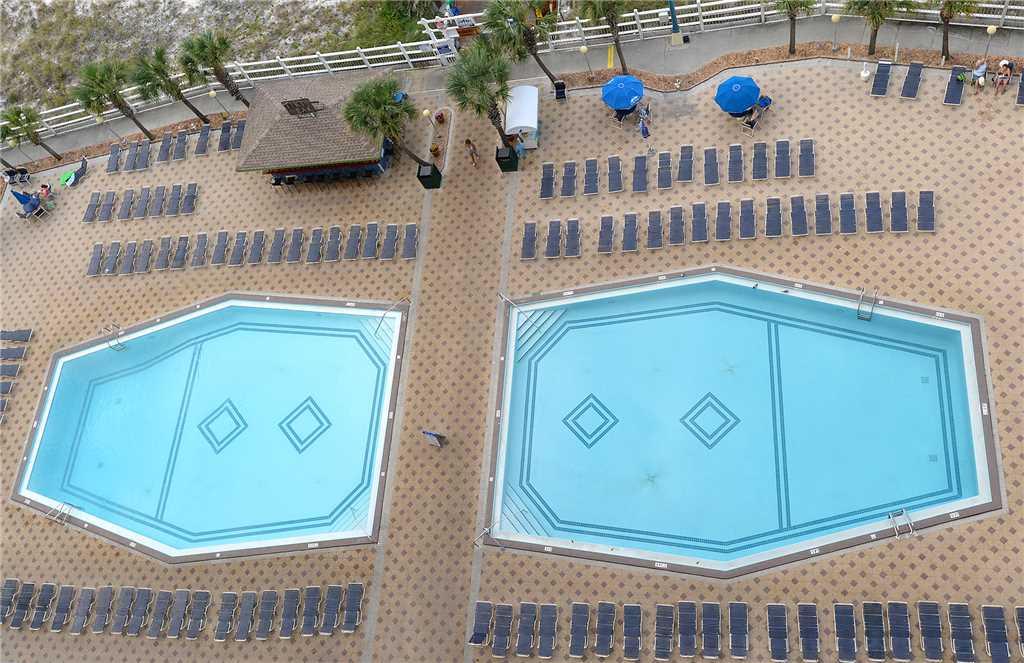 Summit 913 1 Bedroom Beachfront Wi-Fi Pool Sleeps 6 Condo rental in Summit Beach Resort in Panama City Beach Florida - #18
