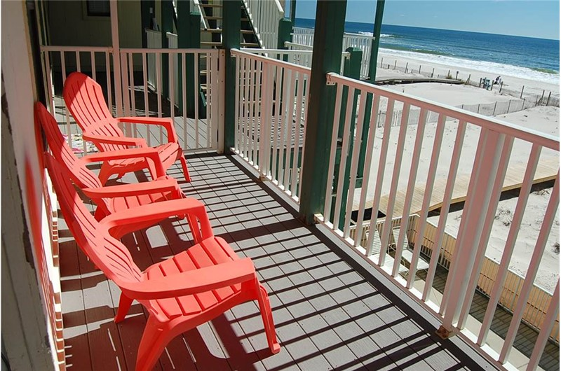 Relax on your balcony at Sundial in Gulf Shores AL