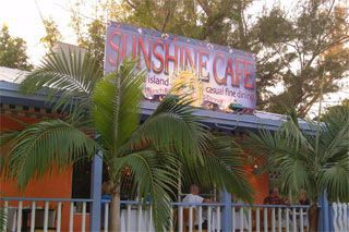 Sunshine Cafe in Sanibel-Captiva Florida