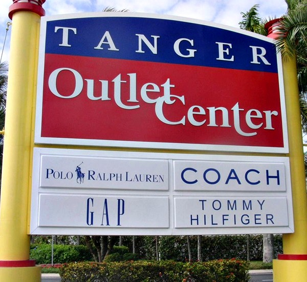 Tanger Outlets in Fort Myers Beach Florida