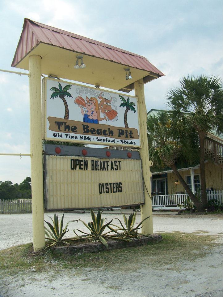 The Beach Pit in St. George Island Florida