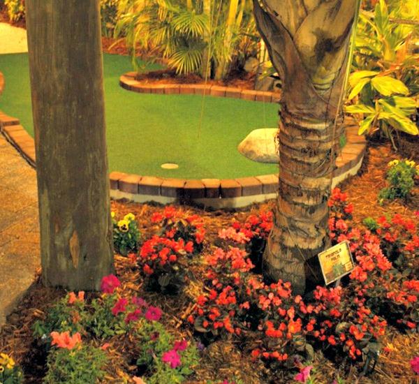 The Fish Hole Miniature Golf in Anna Maria Island Florida