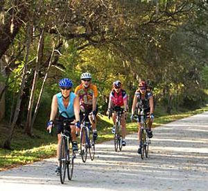 The Pinellas Trail  in Clearwater Beach Florida