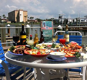 The Pub Waterfront Restaurant & Lounge in St. Pete Beach Florida