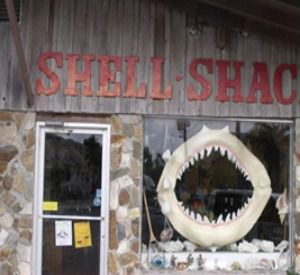 The Shell Shack in Mexico Beach Florida