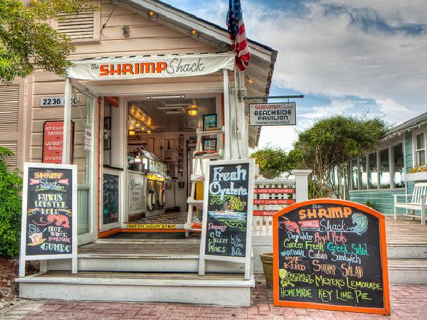 The Shrimp Shack in Highway 30-A Florida