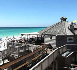 The Whale's Tail Beach Bar and Grill in Destin Florida