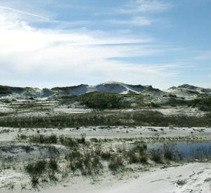 Topsail Hill Preserve State Park in Highway 30-A Florida