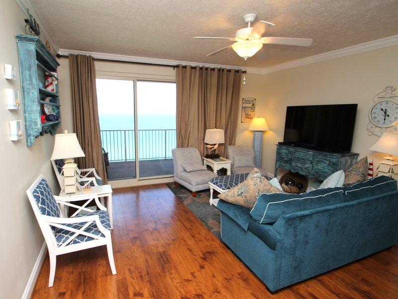 Treasure Island 1709 2 Bedrooms Beachfront Wi-Fi Pool Sleeps 8 Condo rental in Treasure Island - Panama City Beach in Panama City Beach Florida - #3