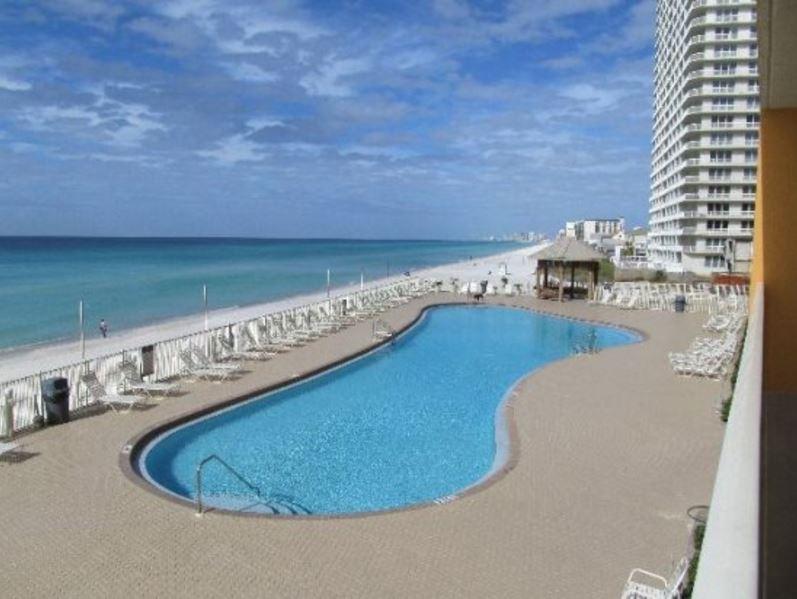 Treasure Island 1709 2 Bedrooms Beachfront Wi-Fi Pool Sleeps 8 Condo rental in Treasure Island - Panama City Beach in Panama City Beach Florida - #4
