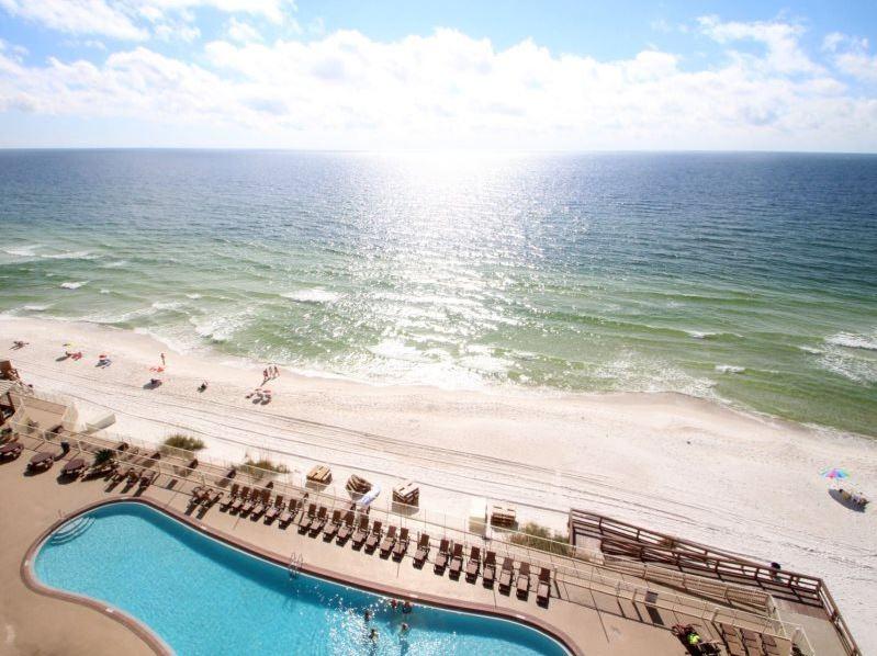 Treasure Island 1709 2 Bedrooms Beachfront Wi-Fi Pool Sleeps 8 Condo rental in Treasure Island - Panama City Beach in Panama City Beach Florida - #32