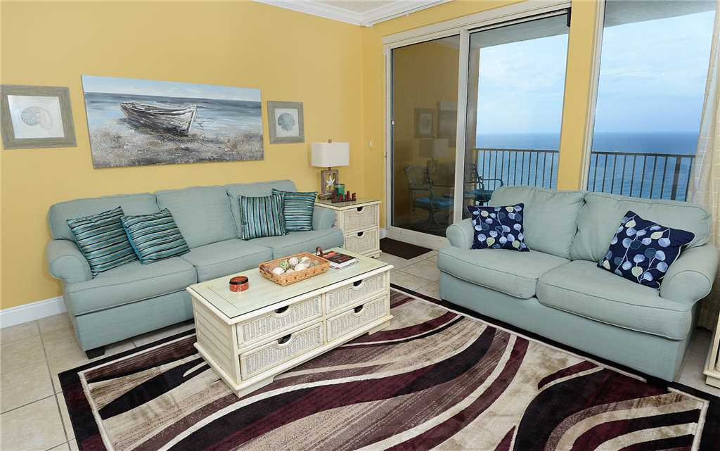 Treasure Island 2105 2 Bedrooms Beachfront Pool Wi-Fi Sleeps 8 Condo rental in Treasure Island - Panama City Beach in Panama City Beach Florida - #6