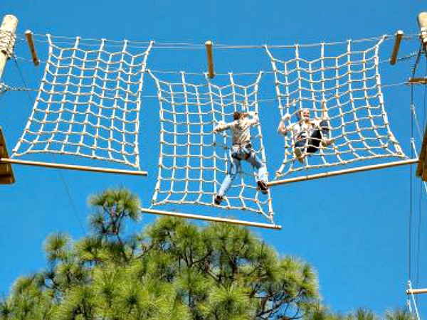 TreeUmph Adventure Course in Siesta Key Florida