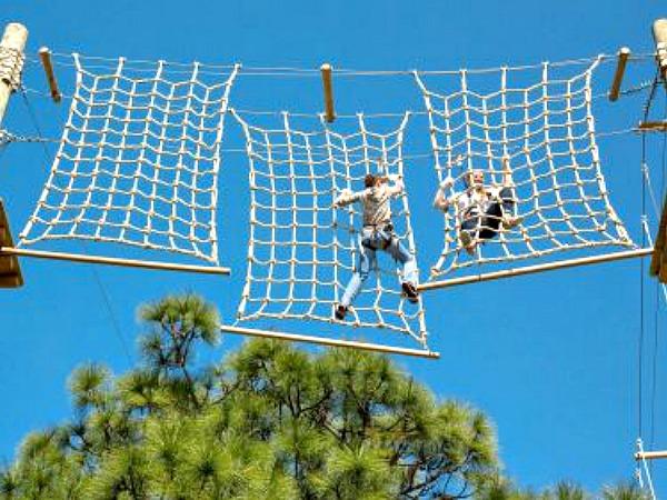 TreeUmph Adventure Course in Siesta Key Florida