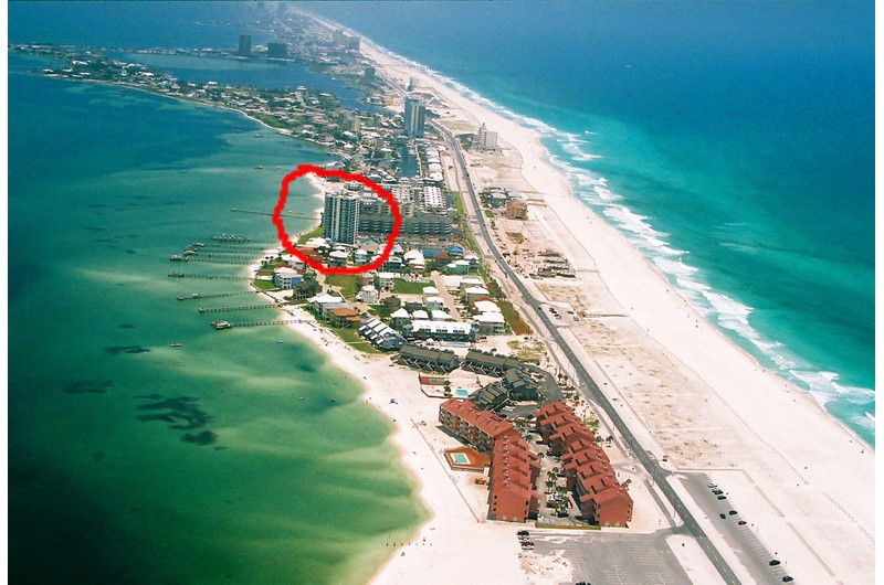 Tristan Towers in Pensacola Beach Florida has a wonderful locations