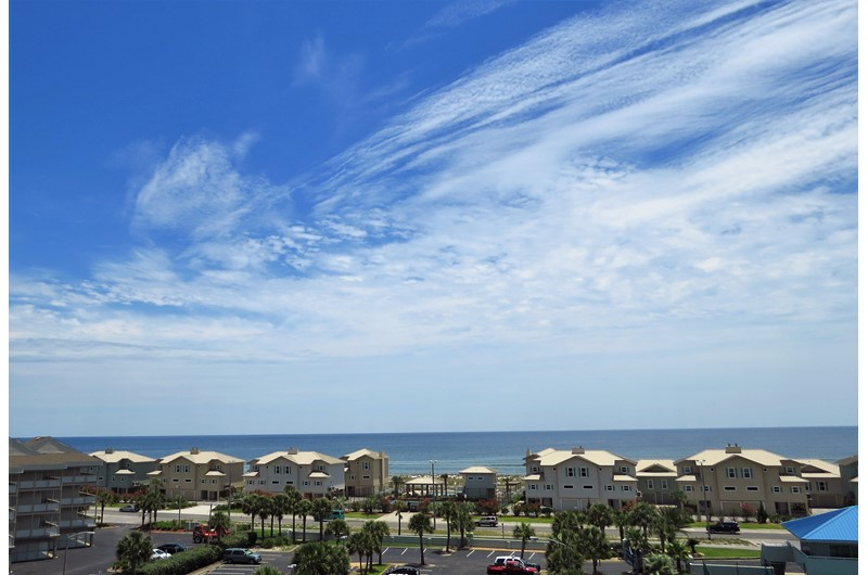 Lovely views from Tristan Towers in Pensacola Beach Florida
