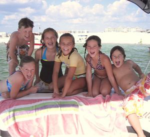 True Blue Pontoon Boat Rentals in Destin Florida