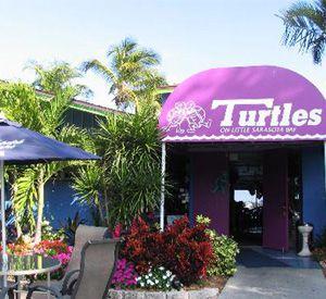 Turtle's on Little Sarasota Bay in Siesta Key Florida