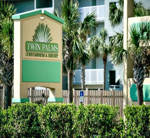 Twin Palms exterior in Panama City Beach FL