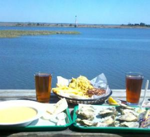 Up the Creek Raw Bar in Apalachicola Florida