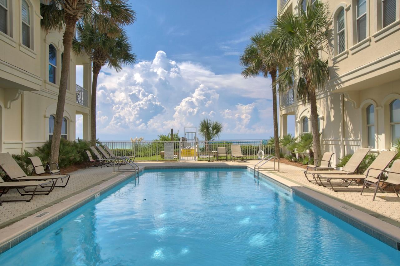 Villas at Santa Rosa Beach Rentals in Highway 30-A Florida Pool