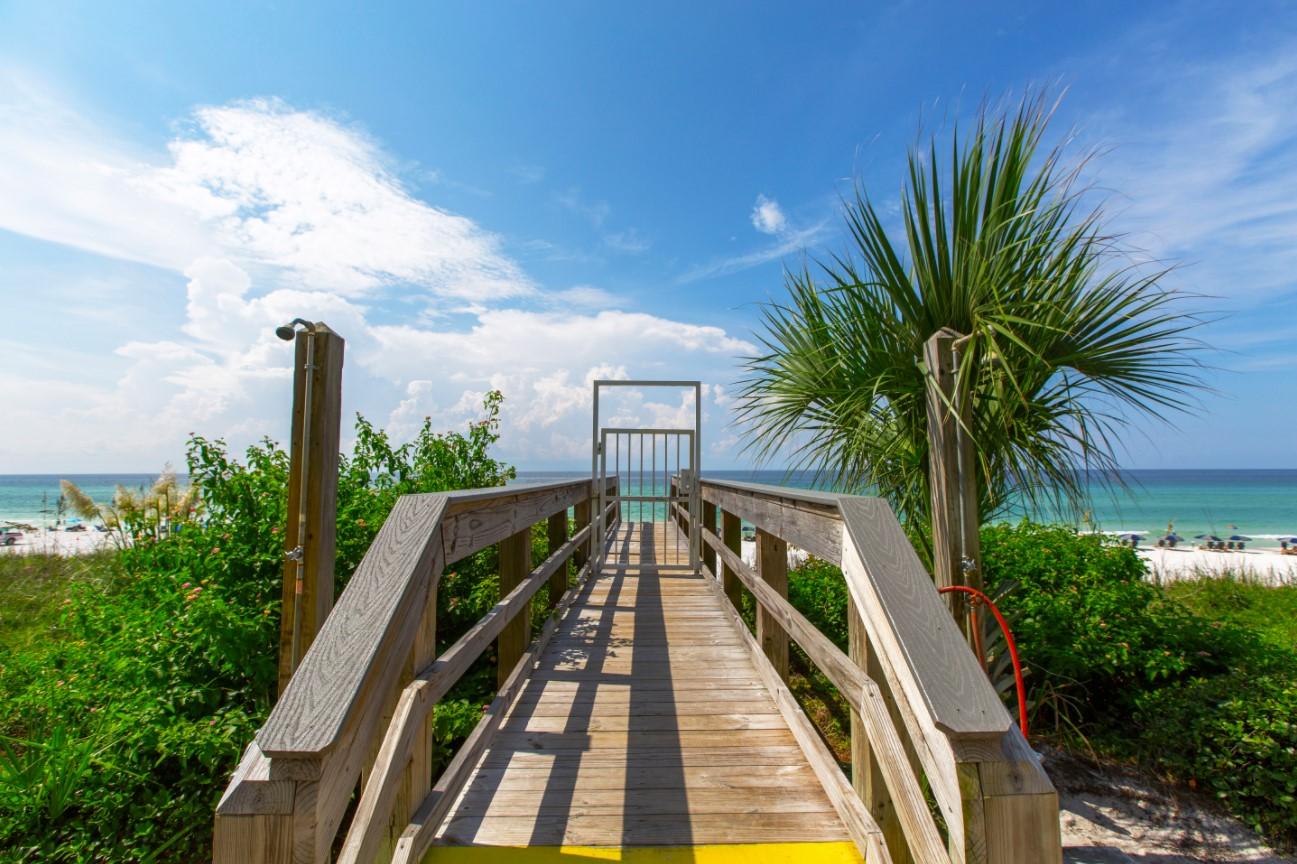 Villas at Santa Rosa Beach Rentals in Highway 30-A Florida Boardwalk Beach Access