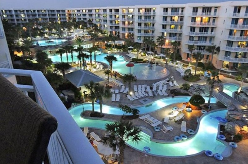 Fort Walton's Waterscape by Night